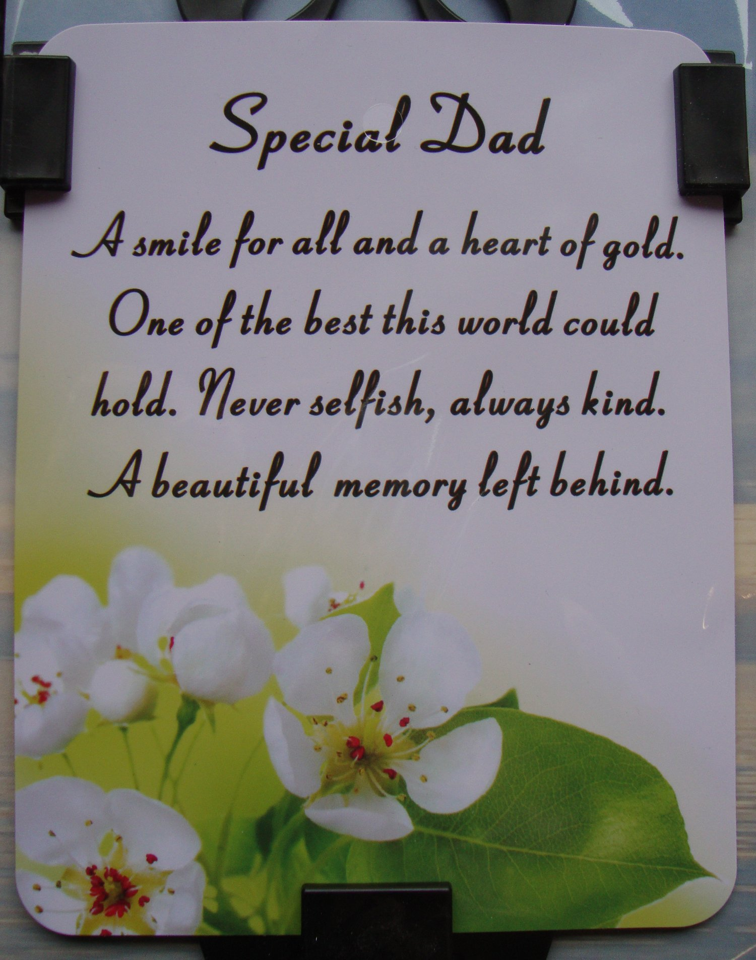 Dad Memorial Quotes Funeral Quotesgram