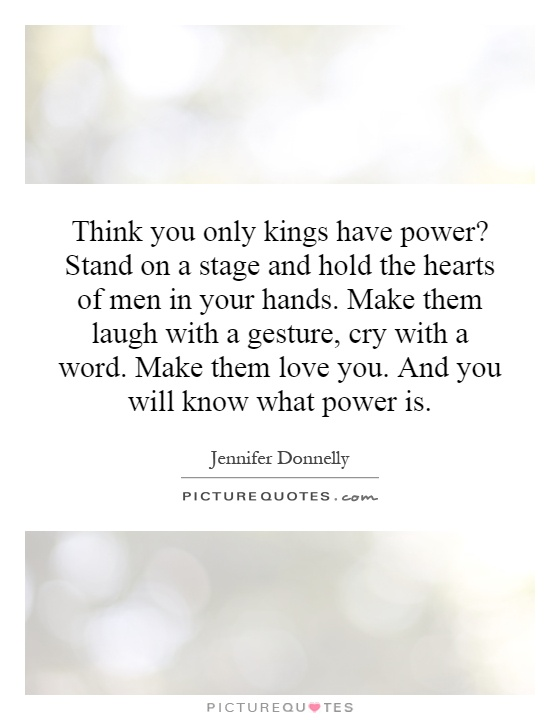 Power In Your Hand Quotes. QuotesGram