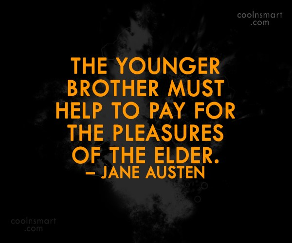 Brother And Sister Support Quotes: Brother Quotes Cool. QuotesGram