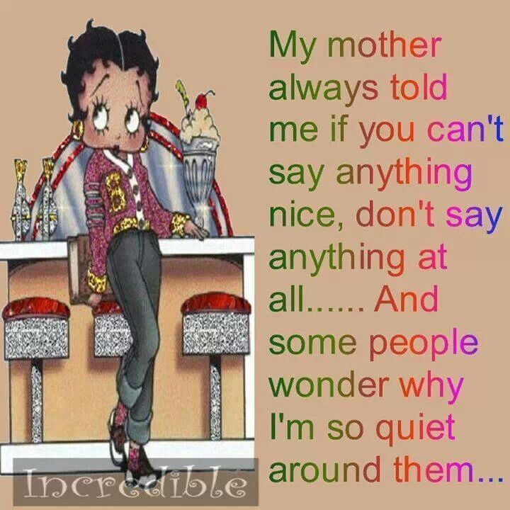 Betty Boop Quotes And Sayings Quotesgram: Betty Boop Famous Quotes. QuotesGram
