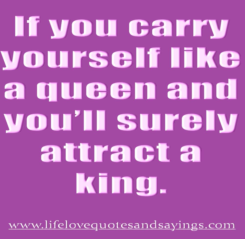 Quotes And Sayings: King And Queen Quotes And Sayings. QuotesGram