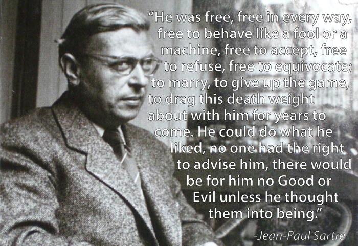 Quotes About Existentialism Sartre. QuotesGram