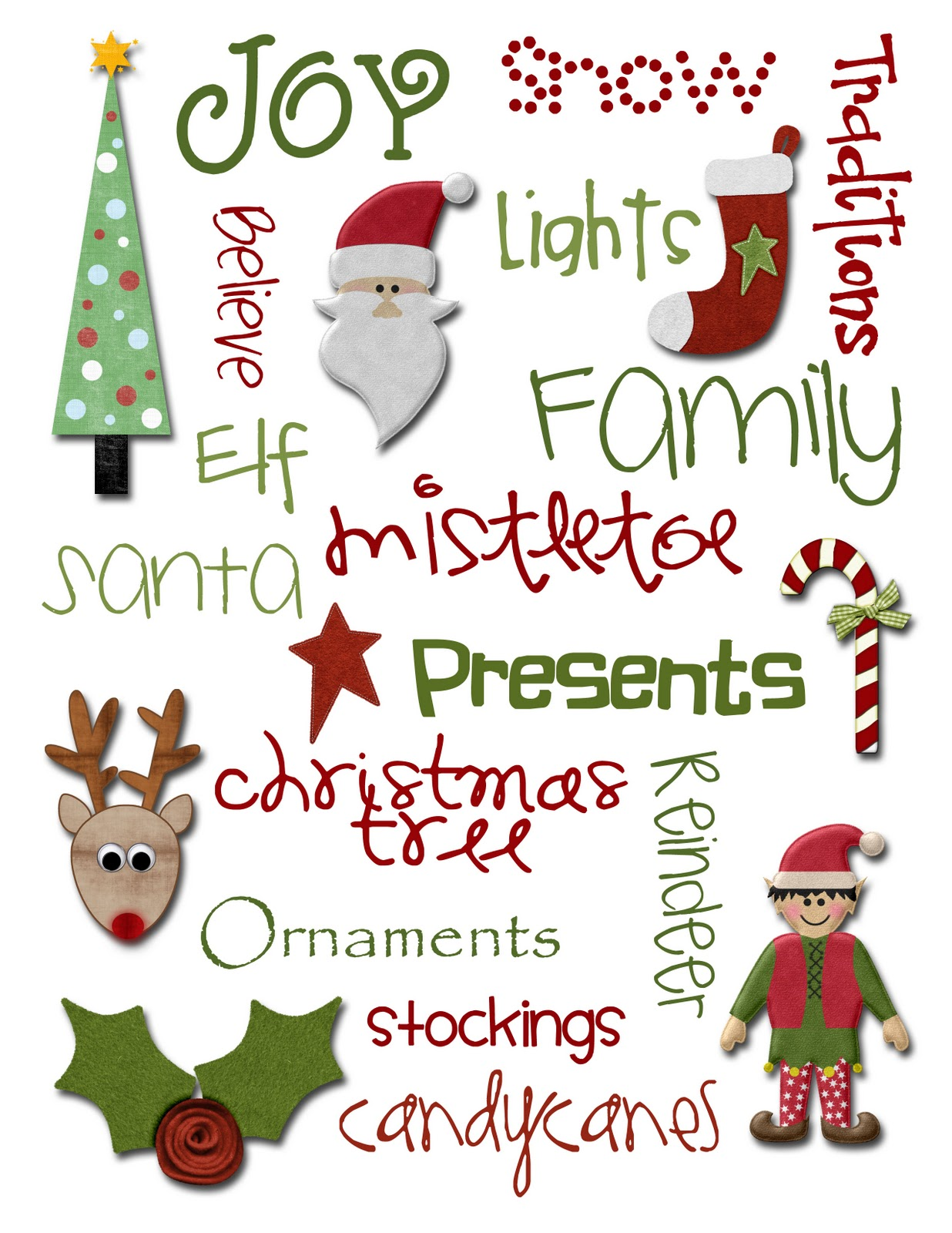 This is an image of Sly Free Christmas Printable