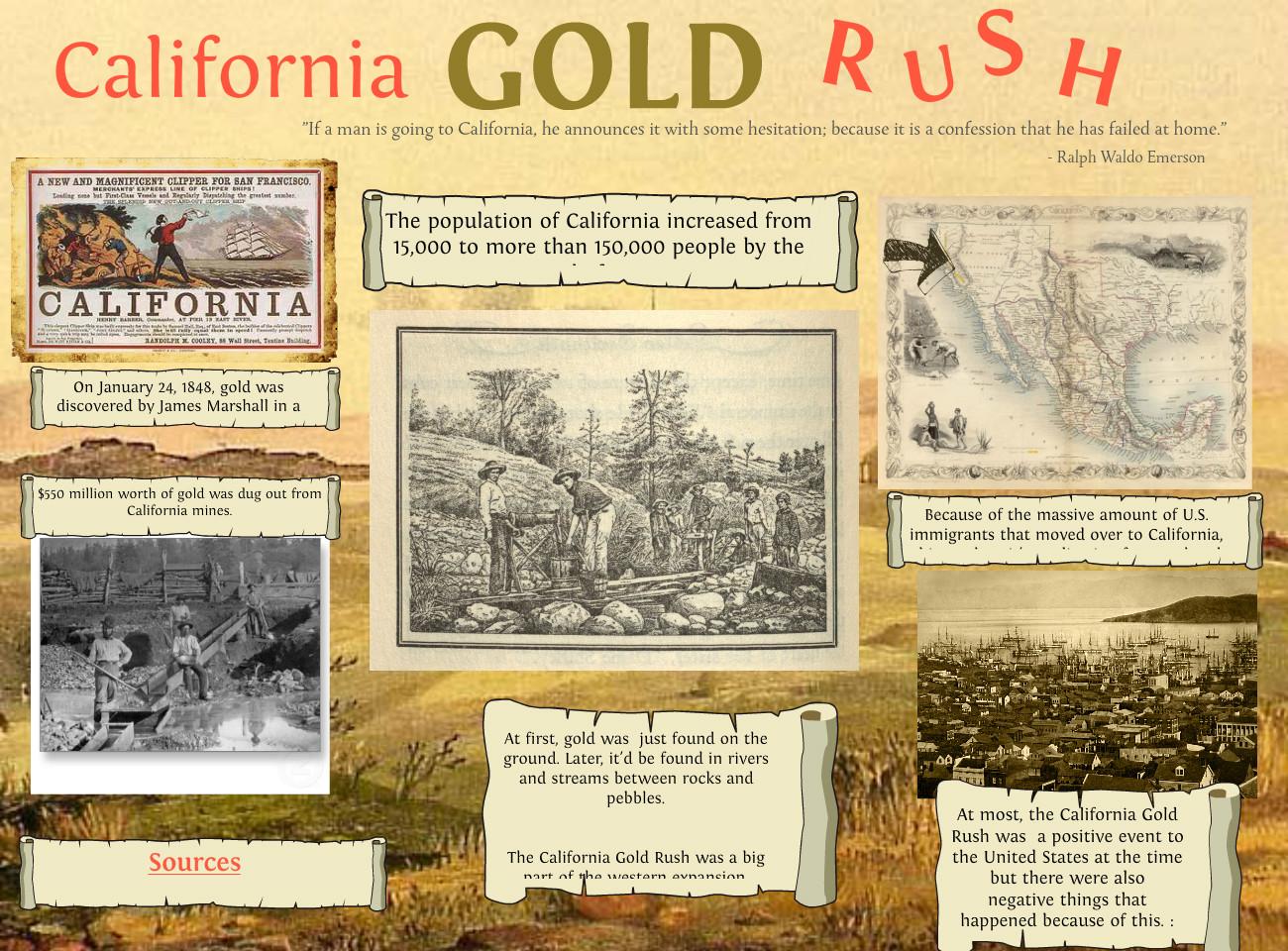 amazing californias gold rush - HD1300×960