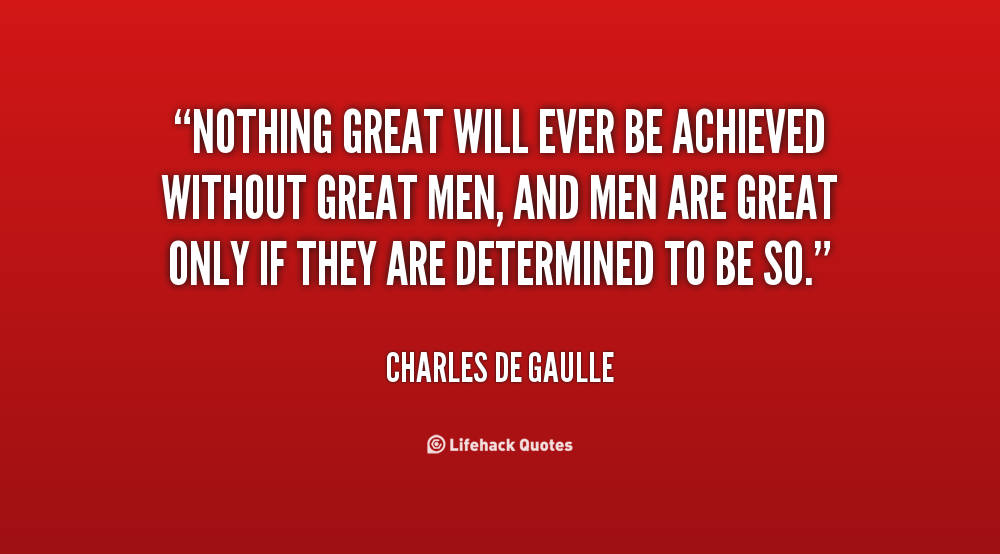 Charles De Gaulle Famous Quotes. QuotesGram