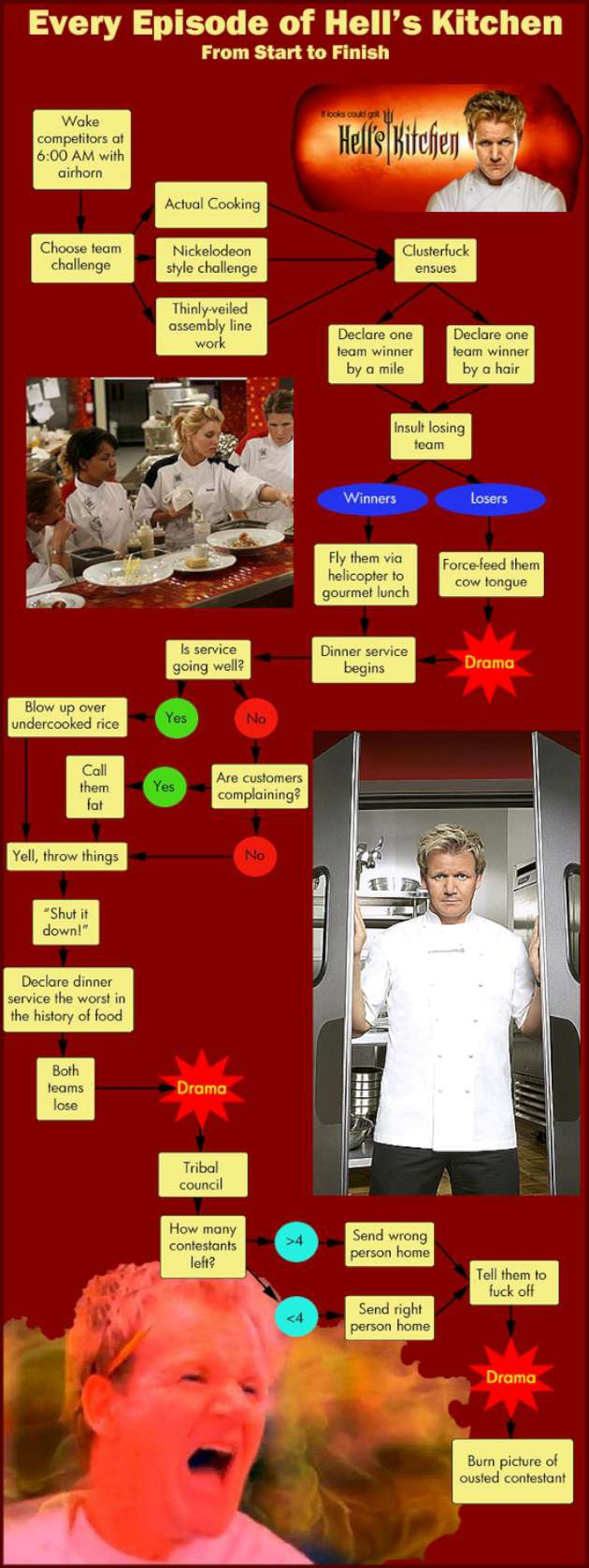 Hells kitchen gordon ramsay quotes quotesgram for Hells kitchen kids