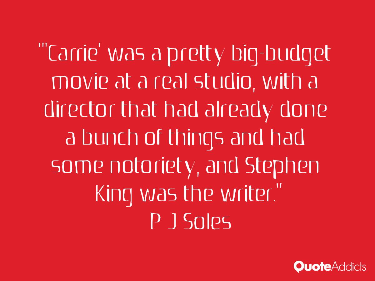 P. J. Soles Quotes. Qu...P J Soles Lyrics