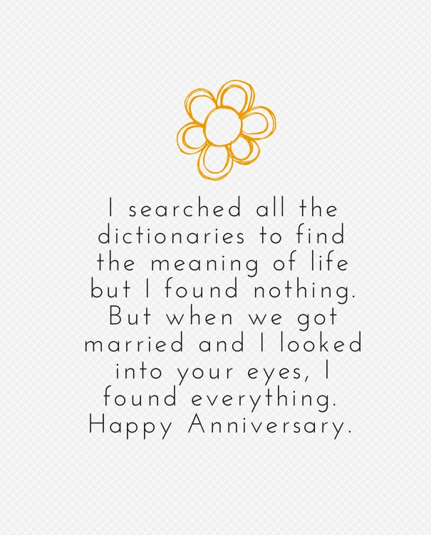 Marriage anniversary quotes for husband from wife quotesgram