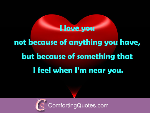 i love you because quotes quotesgram
