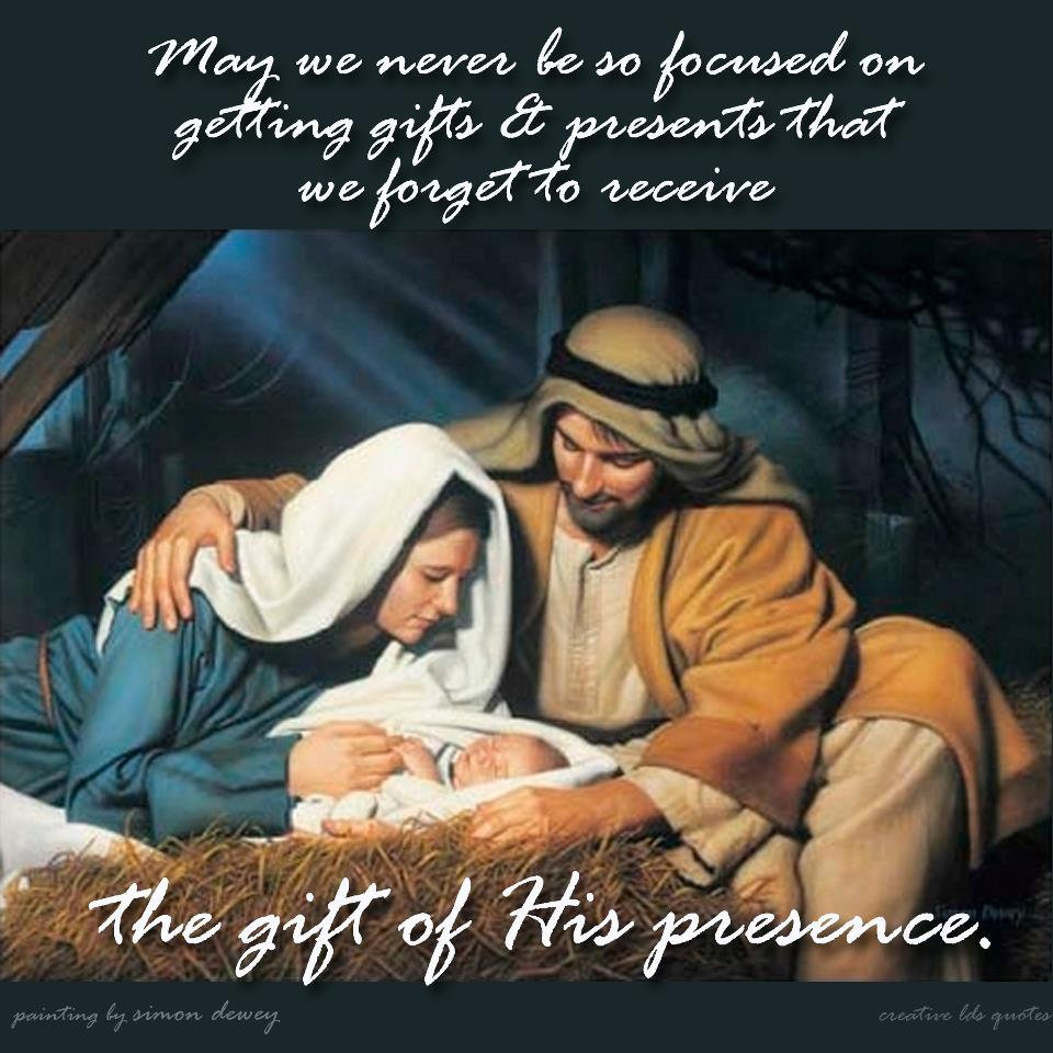 Lds Christmas Quotes. QuotesGram