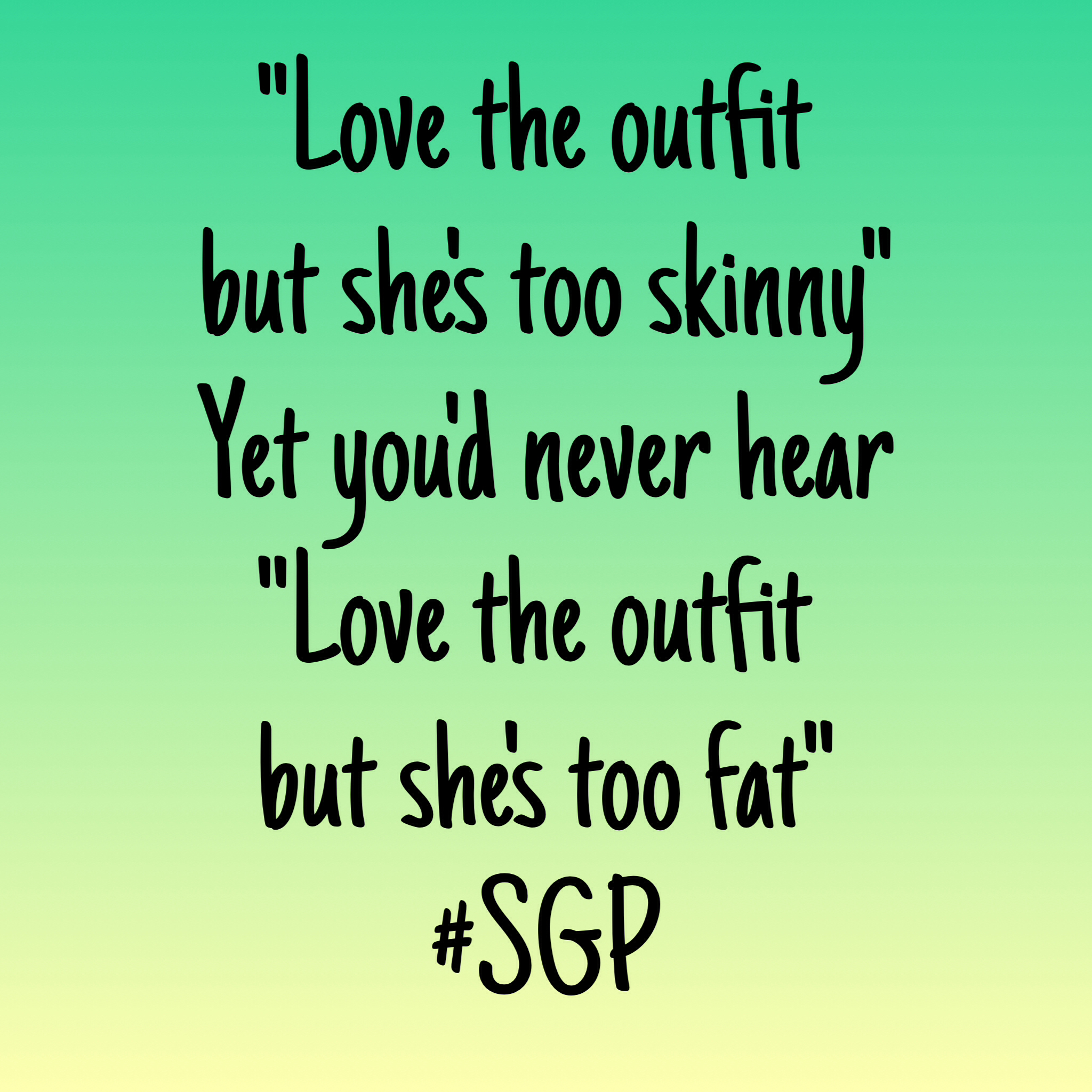 Quotes About Skinny Girls. QuotesGram