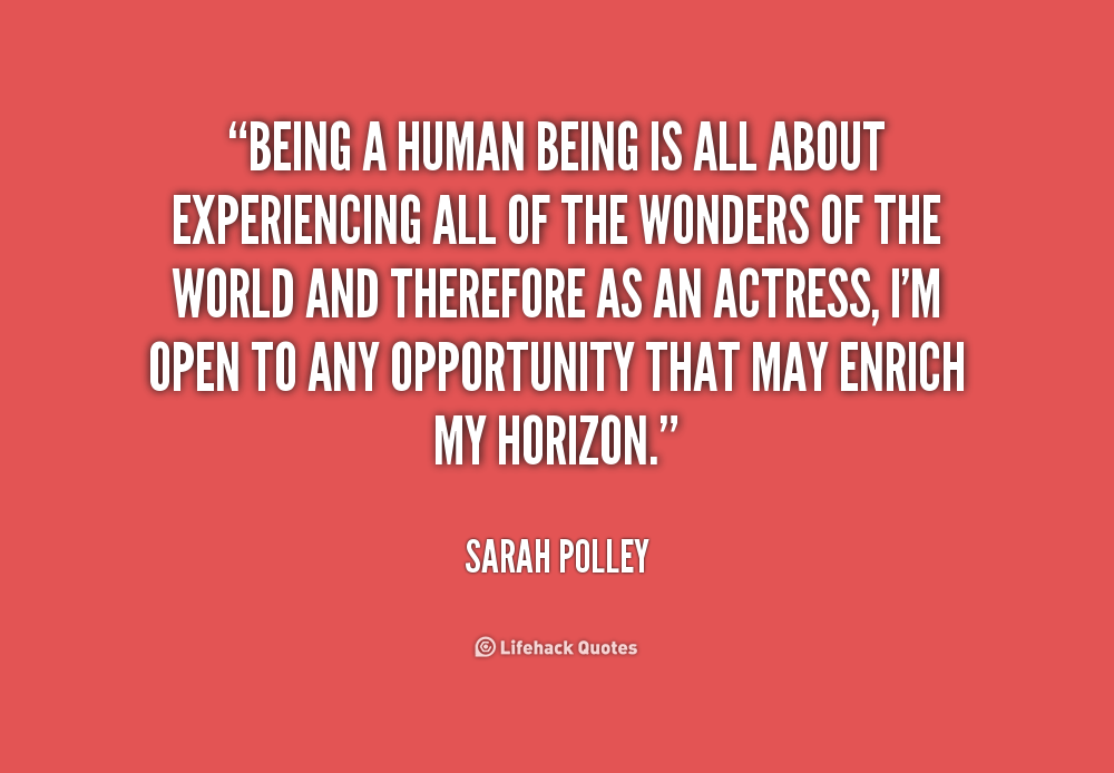 Being Human Opening Quotes. QuotesGram
