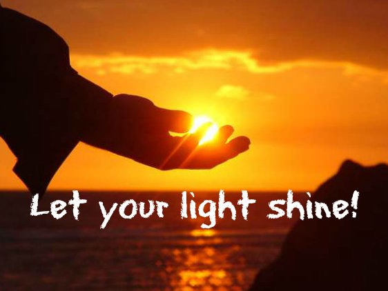Quotes About Shining Light: Let Your Light Shine Quotes. QuotesGram