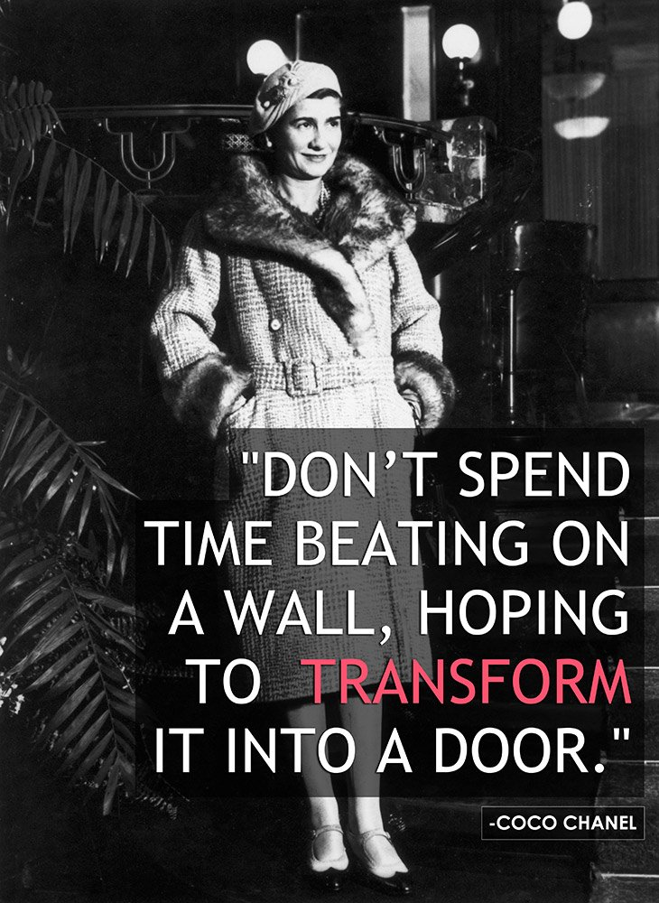 Coco Chanel Fashion Quotes. QuotesGram