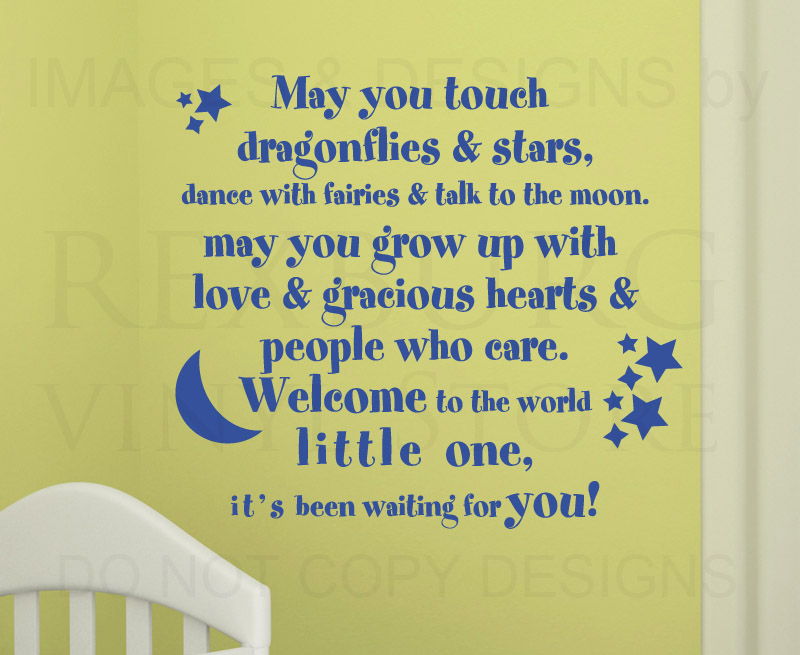 welcome baby girl quotes