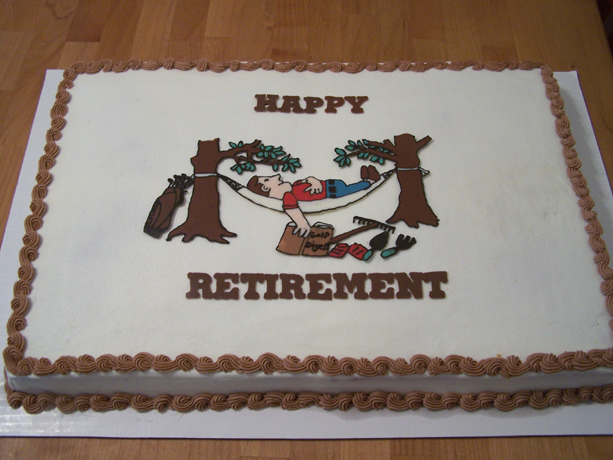 Funny Retirement Quotes For Cakes Quotesgram