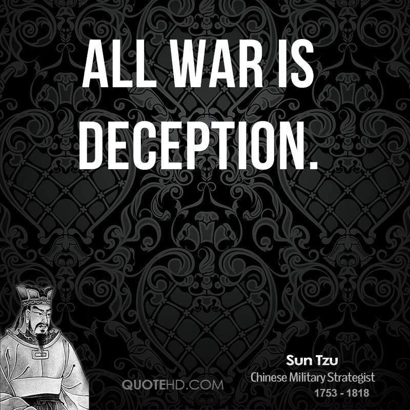 Buddha Quotes On War: Deception Sun Tzu Quotes. QuotesGram