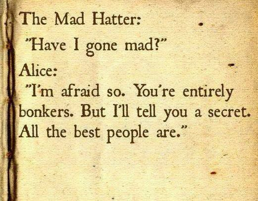 Mad Hatter Lewis Carroll Quotes. QuotesGram