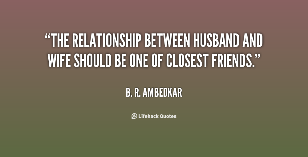 healthy relationship between husband and wife