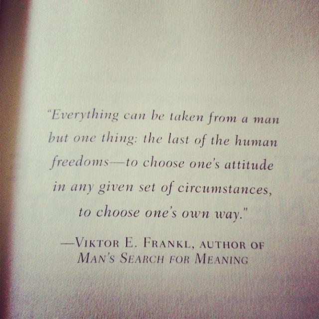 Viktor frankl quotes
