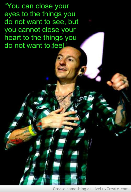 Chester Bennington Quotes QuotesGram