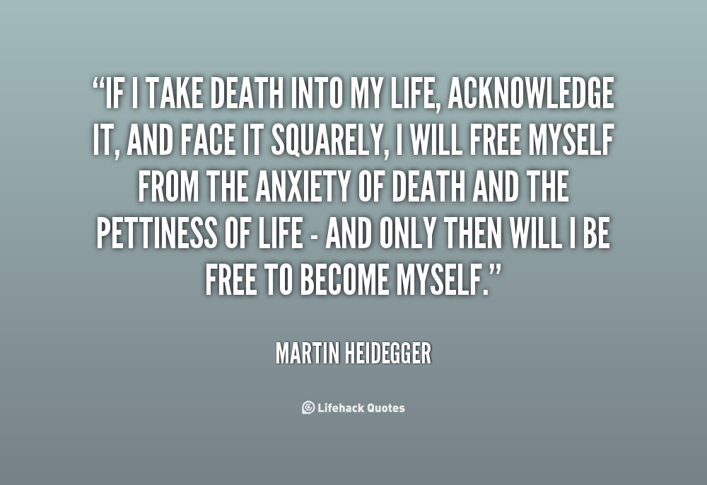 """the life and philosophy of martin heidegger Martin heidegger is a german philosopher heidegger shows """"human reality"""" (dasein) is often lost in inauthentic and everyday life but human being can also find his authenticity and open the mystery of the being, source of all things."""