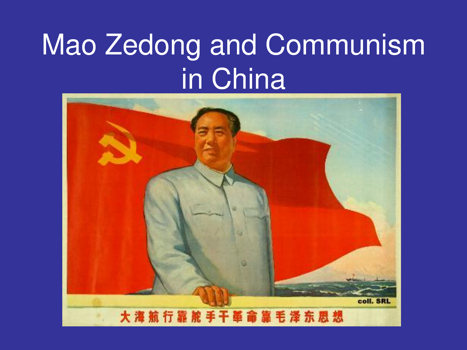 Mao Zedong Quotes On Communism Quotesgram