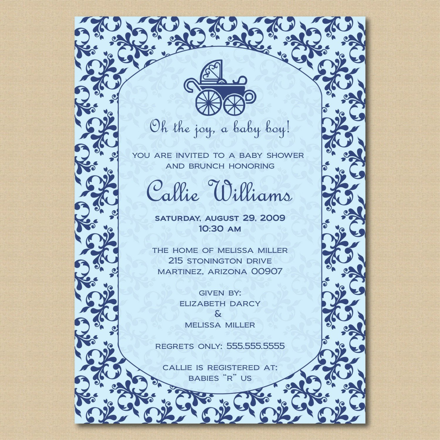 Baby Invitation Quotes. QuotesGram