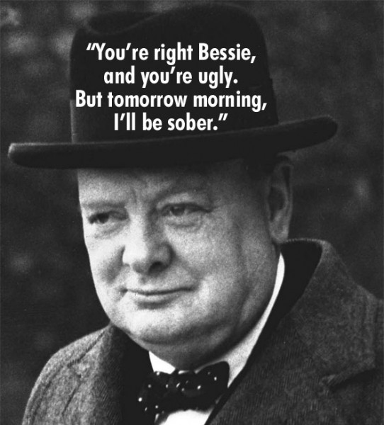 Winston Churchill Quotes Ugly: Winston Churchill Insult Quotes. QuotesGram