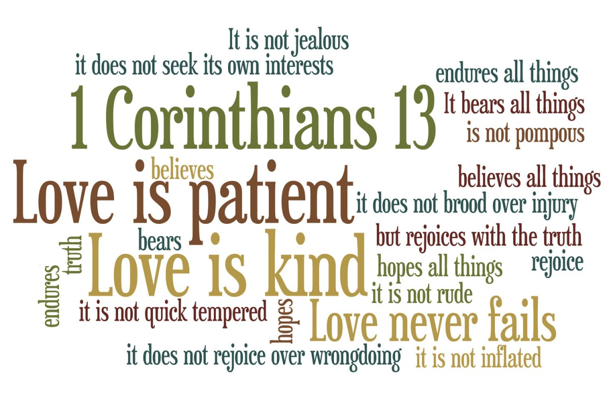 what does the bible say about love and dating