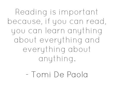 Quotes About Importance Of Reading Why Reading Is ...