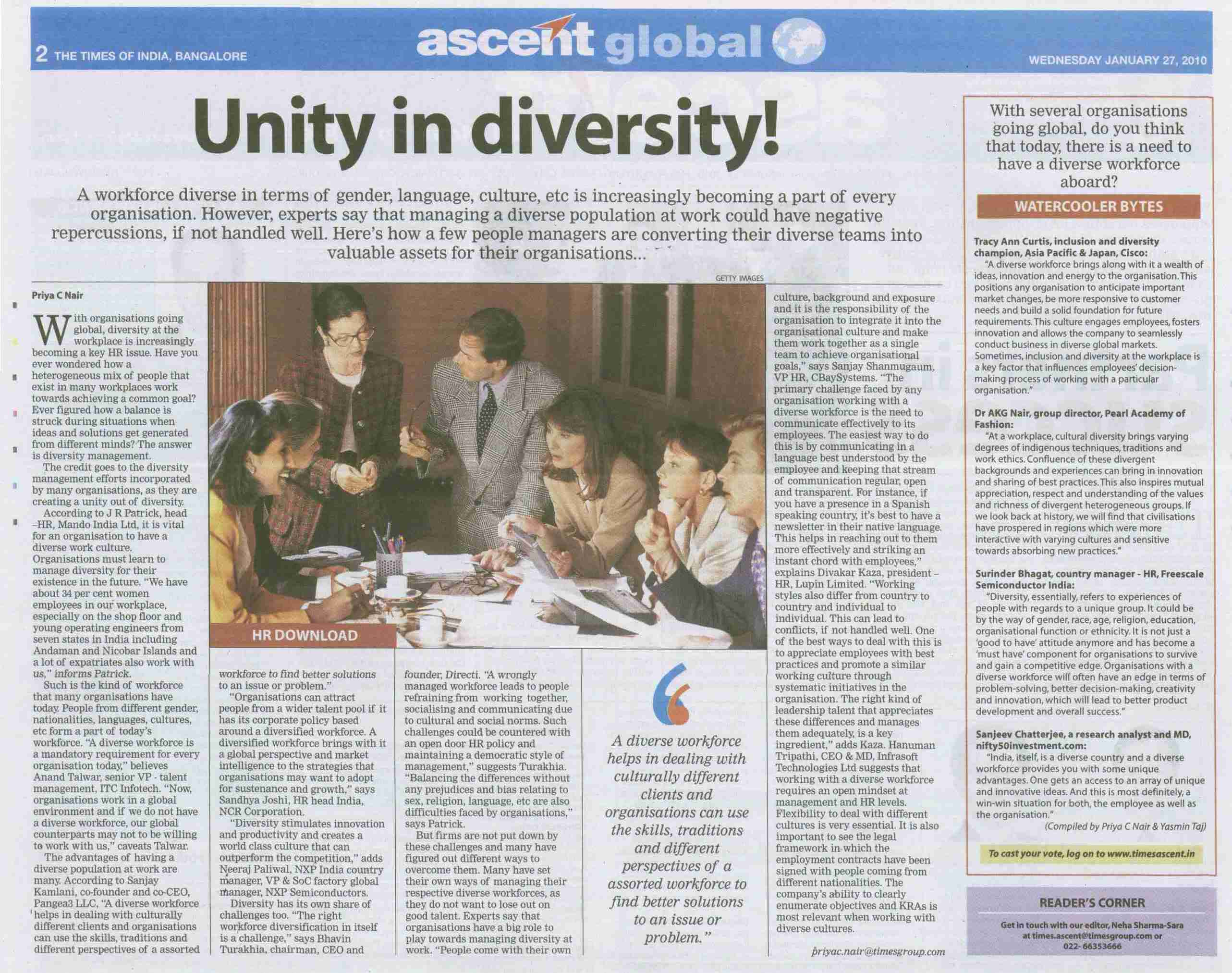 Quotes About Unity In Diversity. QuotesGram