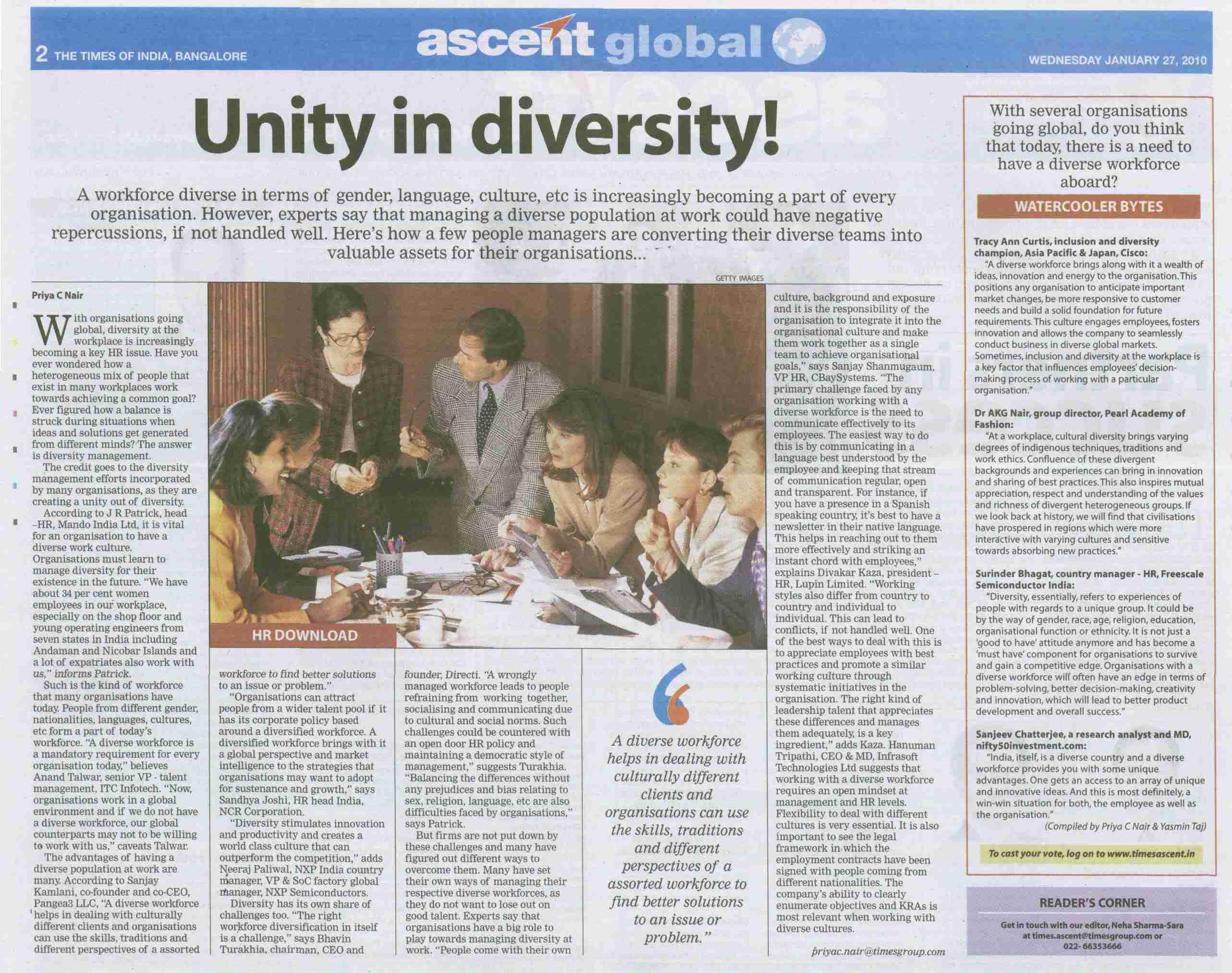 bringing diversity through understanding essay