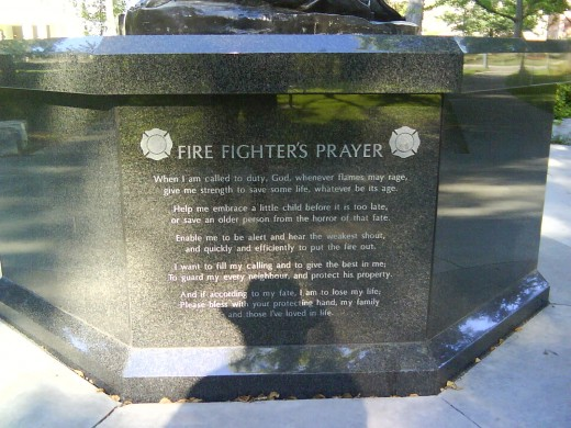 Inspirational Quotes For Firefighters Memorial. QuotesGram