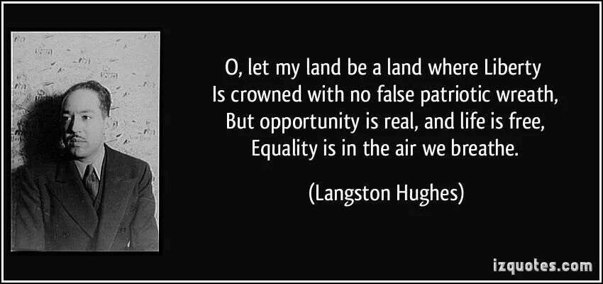 quotes by langston hughes quotesgram