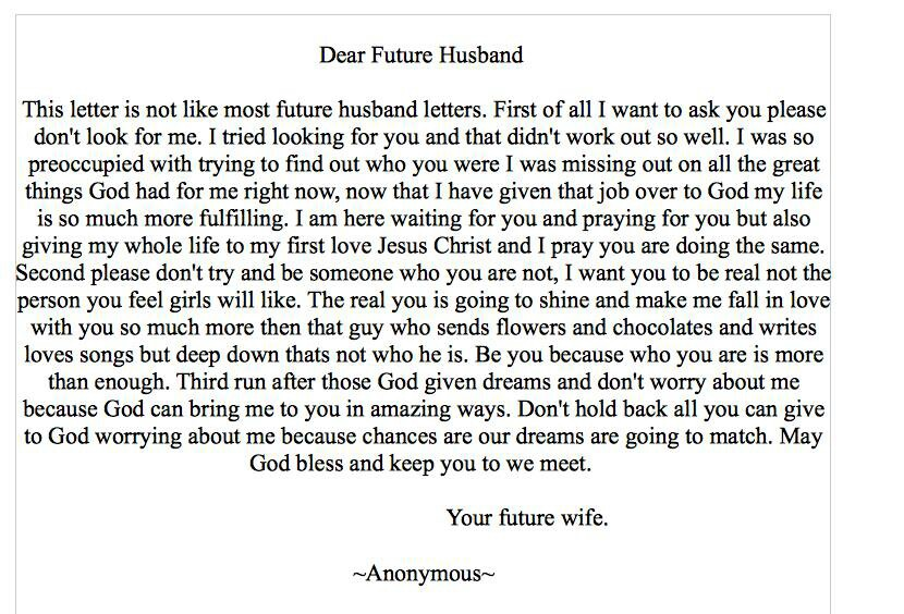 Future Husband Quotes. QuotesGram