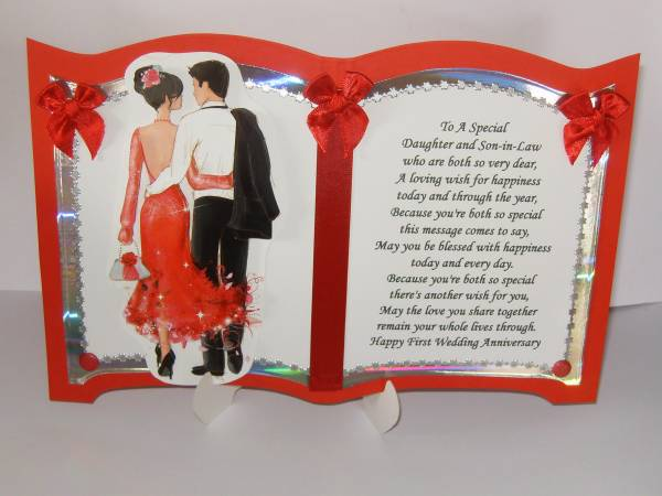 Wedding Anniversary Inspirational Poems Daughter Son In Law: Marriage Anniversary Quotes For Daughter And Son In Law