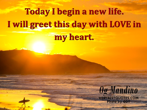 New Day Inspirational Quotes: New Day Inspirational Quotes. QuotesGram
