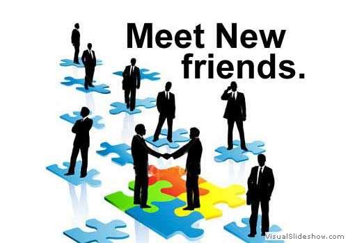 and meet new friends in