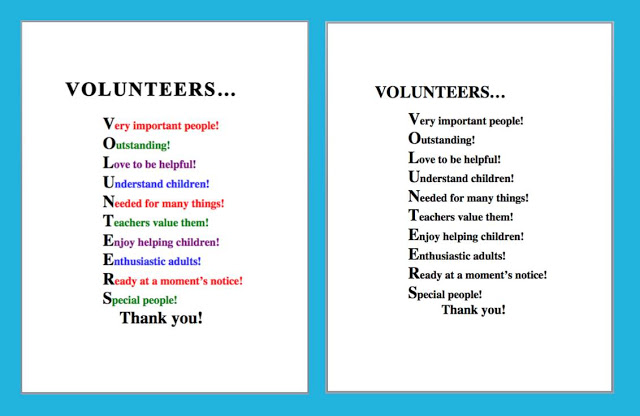 School Volunteer Poems And Quotes. QuotesGram
