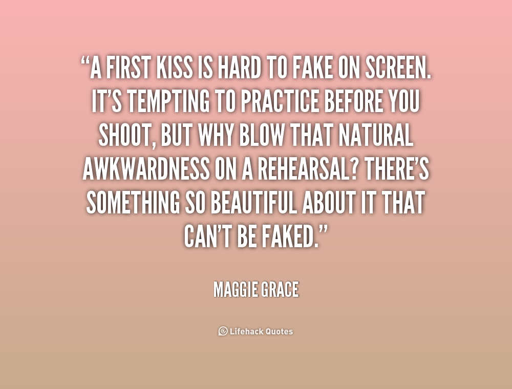 Our First Kiss Quotes Quotesgram