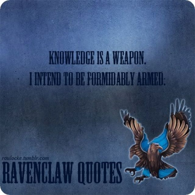 Quotes About Ravenclaw  Quotesgram