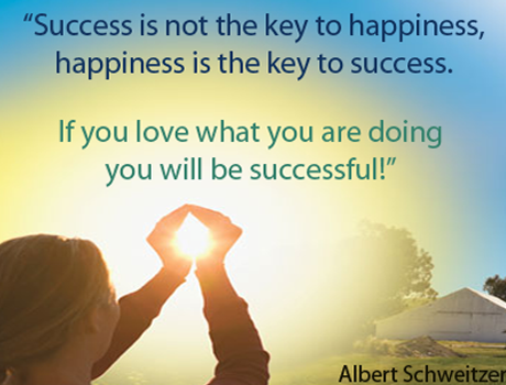 essay about happiness and success In psychology, happiness is a mental or emotional state of well-being which can  be defined by  does happiness promote career success journal of  career.