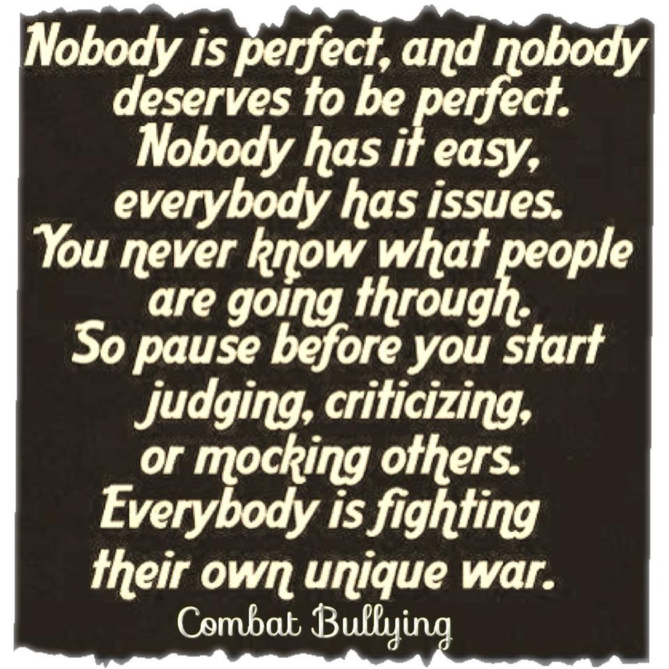Bullying Quotes And Sayings. QuotesGram