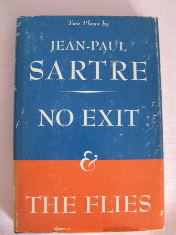 a plot summary of jean paul sartres the flies The wall by jean‐paul sartre they pushed us into a big white room and i began to blink because the light hurt my eyes then i saw a table.