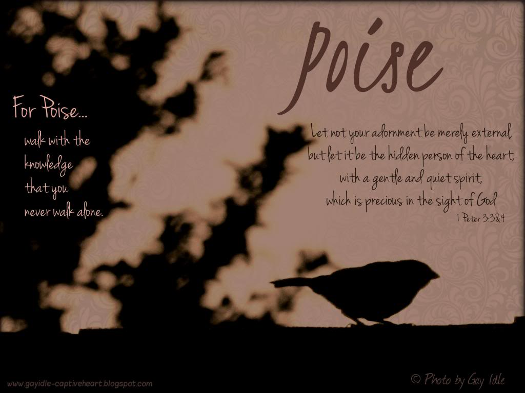 Poise And Grace Quotes. QuotesGram