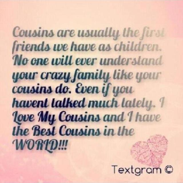 Crazy Cousin Birthday Quotes: Cousin Quotes Graphics. QuotesGram