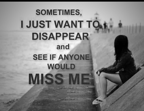 Who Would Miss Me If I Died Tomorrow Quotes. QuotesGram