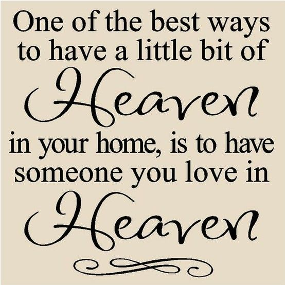 Heaven Quotes For Loved Ones: Parents In Heaven Quotes. QuotesGram