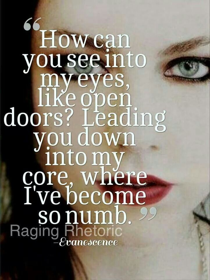 Quotes By Evanescence  Quotesgram